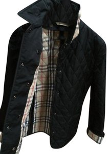 Burberry London Quilted Black Jacket