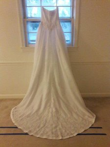 David's Bridal Michaelangelo #5249 Wedding Dress
