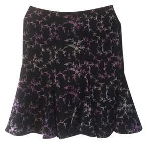 Marciano Skirt black with silver and purple design