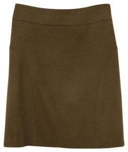 Tory Burch Skirt Olive Green