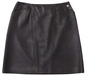 Chanel Mini Skirt Dark Brown