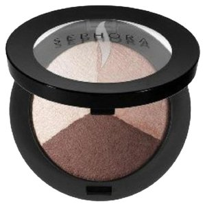 Sephora MicroSmooth Baked Eyeshadow Trio COLOR 01 Natural Light Neutral Matte
