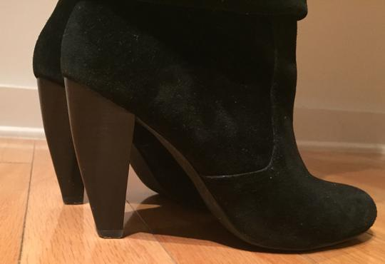 Steve Madden Suede Slouch Suede Slouch Sexy Leather Black Boots Image 5