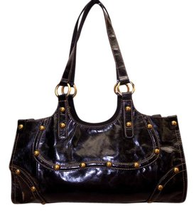 Wilsons Leather Studded Distressed Leather Handbags Shoulder Bag