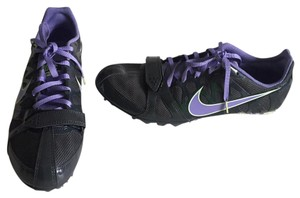 Nike purple, gray, lime green Athletic