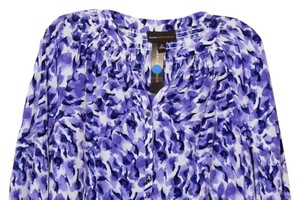Dana Buchman Medium M Buchman Top Purple.