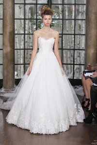 Ines Di Santo Ines Di Santo - Palermo Size 10 White Princess Dress Worn Once Wedding Dress