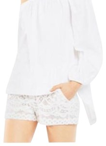 BCBGMAXAZRIA Top white.