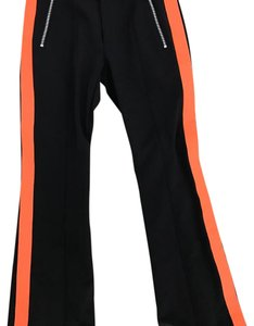 Bogner Athletic Pants Black and Orange