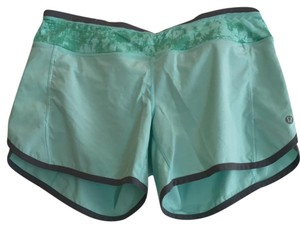 Lululemon Seafoam / Grey Shorts