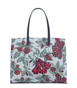 Tory Burch Flowers Tote in Green Acre