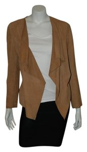 comptoir des cottonniers Leather Open Spring beige Leather Jacket