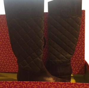 Tory Burch hunter green Boots