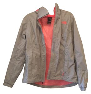 The North Face gray, pink Jacket
