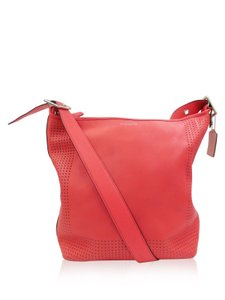 Coach Legacy Perforated Leather Shoulder Bag
