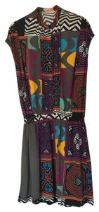 Etro short dress purple on Tradesy
