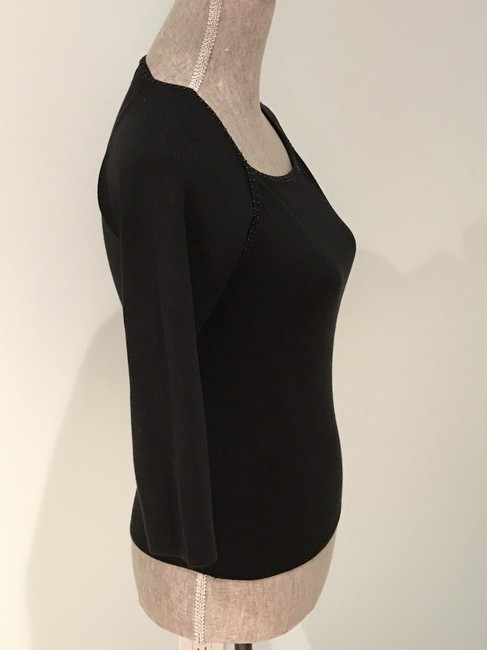 Other Silk Tops Beaded Tops Beaded Top Black Image 4