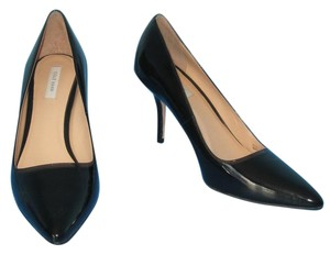 Cole Haan Patent Leather Classic Pointed Toe Black Pumps