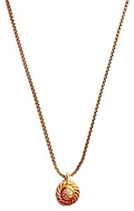 David Yurman Diamond Pendant Necklace