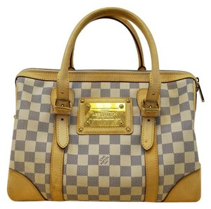 Louis Vuitton Lv Damier Berkeley Azur Handbag Tote