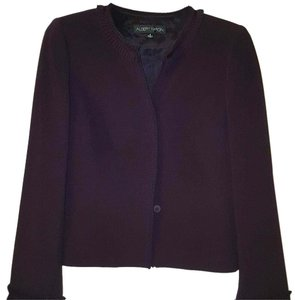 Albert Nipon Albert Nipon Aubergine Dress Suit