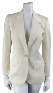 Chloé Riding Twill Contrast Stitch Chloe Notch Lapel Jacket