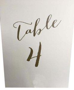 23-table Number Holders