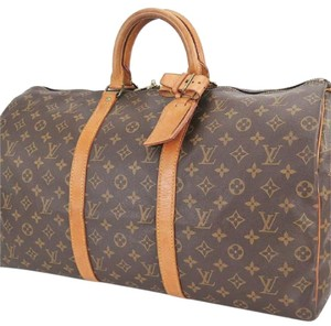Louis Vuitton Lv Keepall 50 Keepall 50 Travel Vintage brown Travel Bag