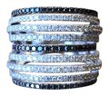 EFFY EFFY Collection Multi-Row Statement Ring in 14k White Gold