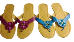 Avon Teal OR Plum Sandals