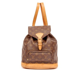 Louis Vuitton Monogram Mm Leather Backpack