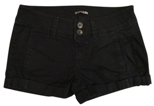 Express Cuffed 00 Mini/Short Shorts Black
