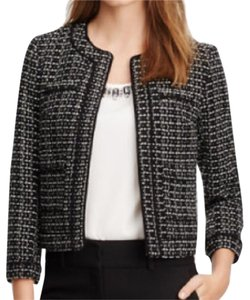 Ann Taylor Ann Taylor Piped Tweed Jacket, Never Worn