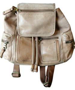 Lucky Brand Leather Rustic Backpack