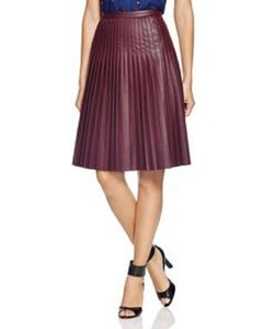 Rebecca Taylor Skirt Oxblood Red