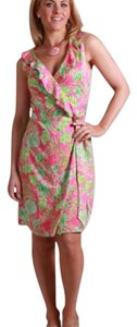 Lilly Pulitzer short dress Pink, Green on Tradesy