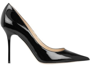 Jimmy Choo Abel Patent Leather Black Pumps