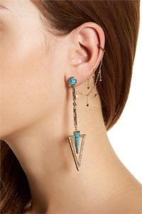 House of Harlow 1960 House of Harlow 1960 South Point Statement Earrings Turquoise
