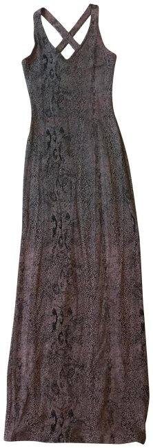 Snakeskin print Maxi Dress by Alexia Admor Long Maxi Crisscross Strap Flattering Image 0