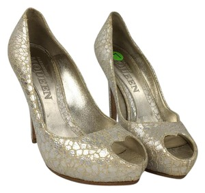 Alexander McQueen Metallic Pumps