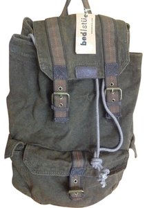 Bed Stü Canvas Leather Backpack
