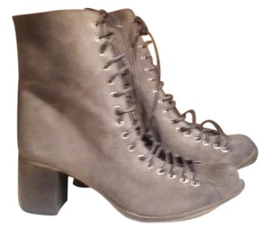 Jeffrey Campbell Grey Boots