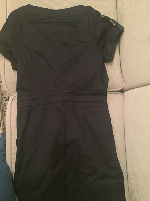 Kenneth Cole Chic Attire Front Zipper Short Sleeve Dress Image 6
