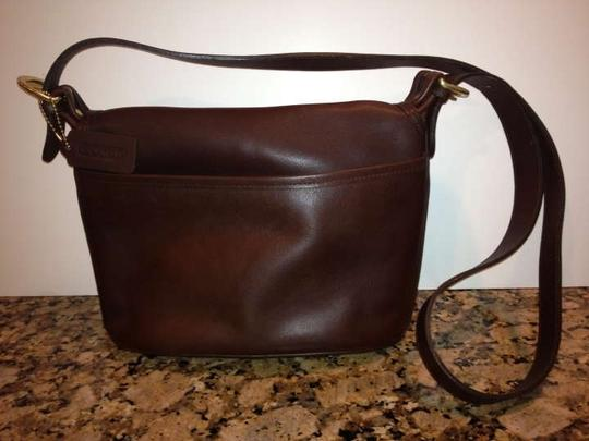 Coach Vintage Classic Leather Shoulder Bag