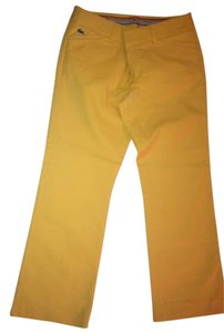 Lacoste Preppy Pants Capris yellow