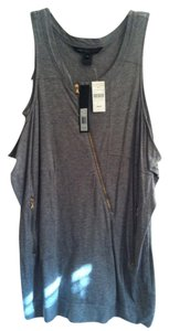 Marc by Marc Jacobs With Zippers Zipper Moto Top Grey