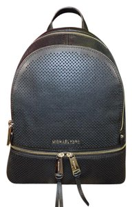 Michael Kors Rhea Zip Leather Backpack