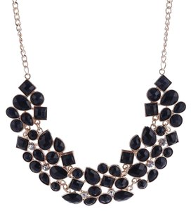 Other Black Jeweled Collar Necklace