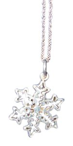 Tiffany & Co. Stencil Snowflake & Chain