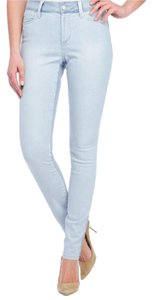 NYDJ Coated Printed Skinny Skinny Jeans-Light Wash
